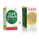 [Twin Pack] Abeille d'Or Bio-Chlorella 200mg Tablet (300's) +Abeille d'Or Chlorella Gold Chewable Tablet (300's)